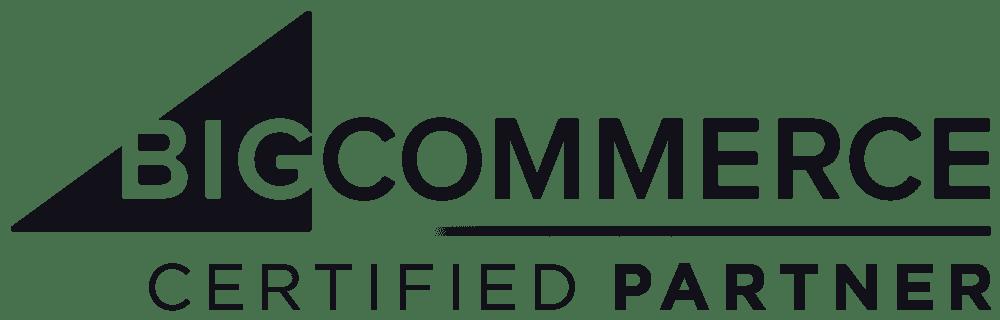 ETG is a certified partner for BIGCOMMERCE
