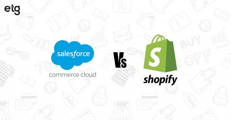 Determine Best Fit for eCommerce – Shopify or Salesforce Commerce Cloud