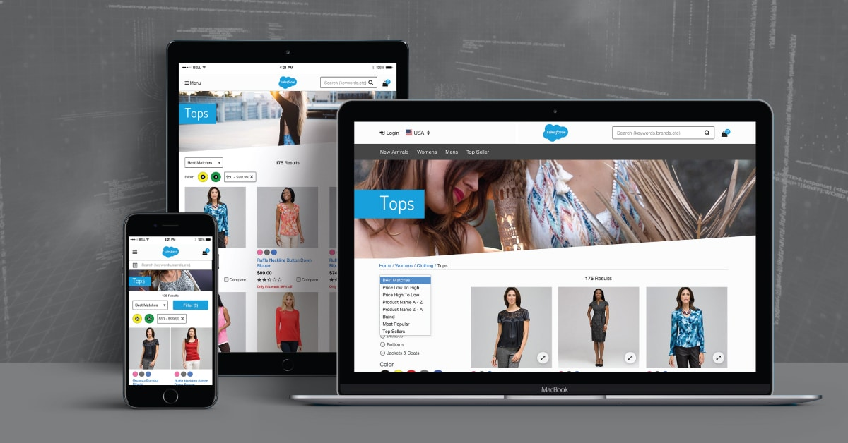 Mobile-First Approach using Salesforce Commerce SFRA – Store Front Reference Architecture