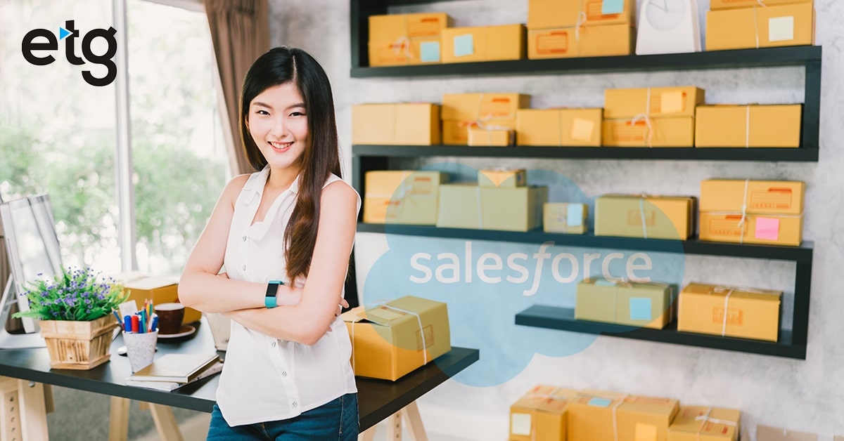 How Salesforce Helps Small eCommerce Business?